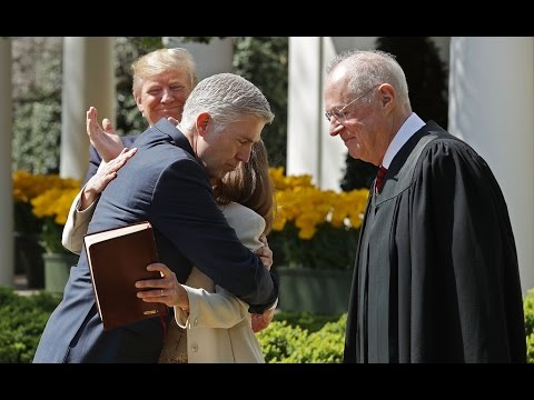 Watch Neil Gorsuch swear in as a Supreme Court justice