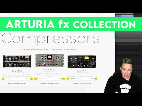 Arturia FX Collection | The plugins you need, one place, one price