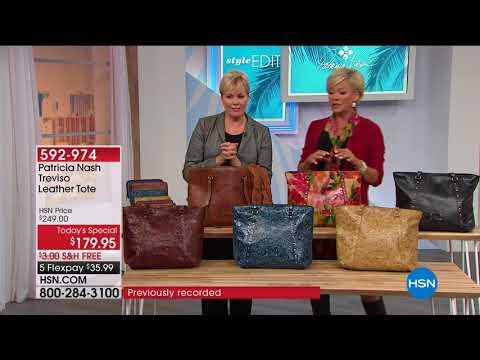 HSN | Patricia Nash Handbags 02.23.2018 - 06 AM