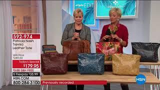 HSN   Patricia Nash Handbags 02.23.2018 - 06 AM