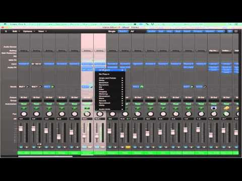 HOW TO EXPORT LOGIC SESSION TO PRO TOOLS