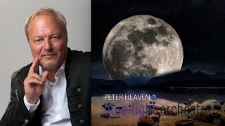 PETER HEAVEN & blue light orchestra - moon over the mountain lake (instrumental, relax, meditation)