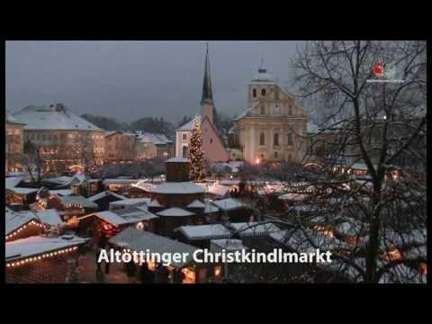 Advent und Weihnachten in Altötting; Christkindlmarkt Altötting