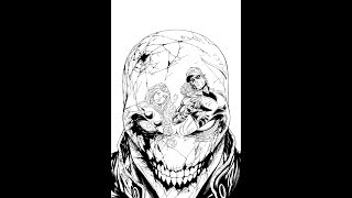 Inking Red Hood and the Outlaws #16 cover