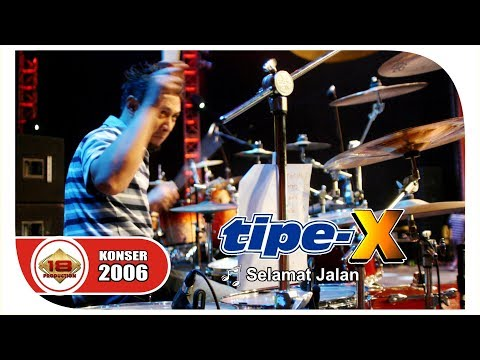 "MERINDINGG.... TIPE-X' BAWAKAN LAGU ""SELAMAT JALAN"" (LIVE KONSER KALBAR 29 JULI 2006)"