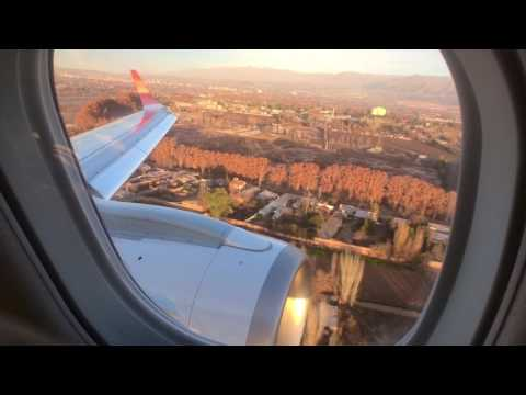 Aterrizando en Mendoza -Final approach Mendoza Airport Argentina