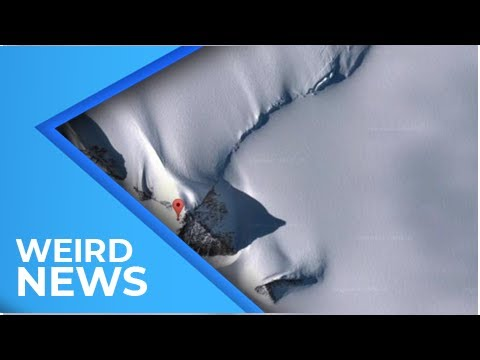 New Pyramid in Antarctica? Not Quite, Say Geologists   Weird News 2018