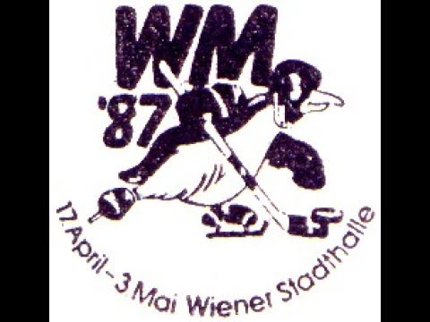 СССР - ČSSR 1987-04-21 НWC '87 Group...