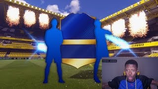 Omg 2 tots in a free pack !!! fifa 17 luckiest team of the season pack opening