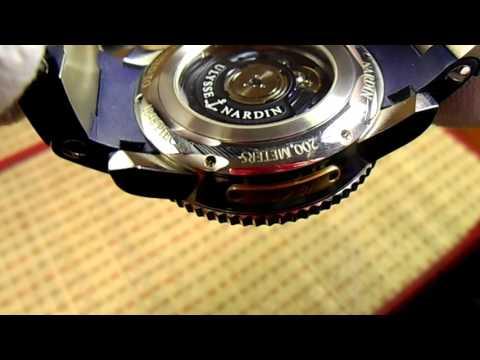 Часы Ulysse Nardin Maxi Marine Diver Blue Surf лимитированная серия.