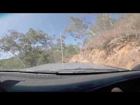 Seven Hills Track Mareeba Far North Queensland the hairy bits - 80 Series Landcruiser