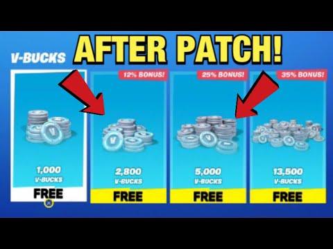 Working How To Get Free V Bucks In Fortnite Chapter 2 Season 3 Ps4 Xbox Pc Vbucks Glitch 2020 Youtube