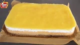 portakallı pudingli pasta/Hafif lezzetli pasta tarifi/