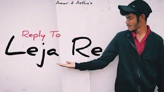 Leja Leja Re Song Dance Video | Dhvani Bhanushali | Shivam Grover | Reply to Leja re | Amar & Astha