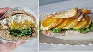 [1분완성] 오렌지 광어 샌드위치 만들기 Make or…