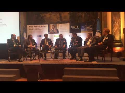 Fernando Carbel,presentación en Global Wind Energy Council