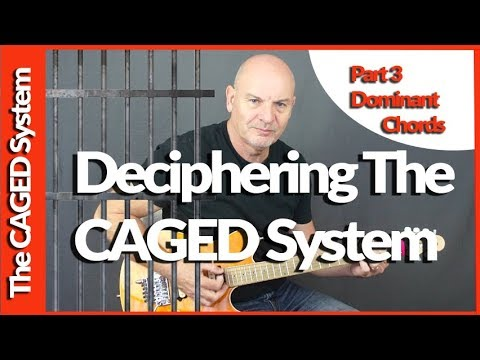Deciphering The CAGED System Part 3 Dominant 7 Chords
