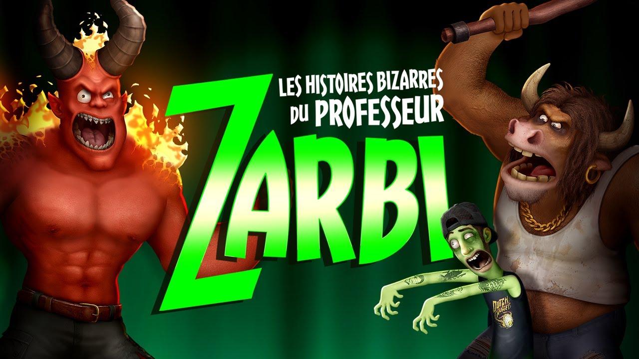 Les histoires bizarres du professeur Zarbi - Trailer 2