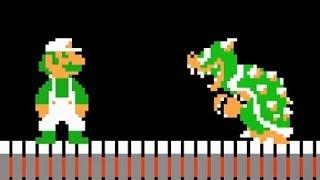 Super Mario Bros.: The Lost Levels - All Castles