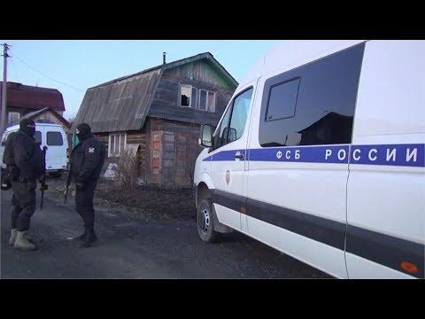 Чекисты расстреляли  трёх террористов в саду Ручеёк. Real Video