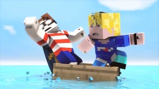 Gambar cover Fishing Trip (NEW PARODY TEASER!?) - Minecraft Animation - FrediSaalAnimations