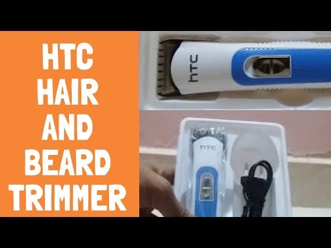 UNBOXING of hTC  Rechargeable hair Trimmer / AT-028