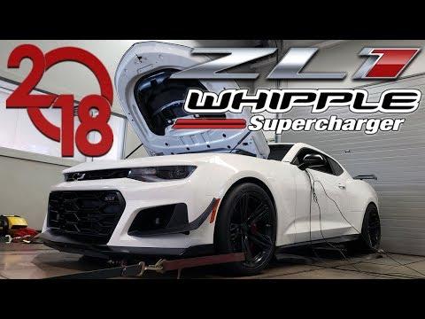 2018 ZL1 Camaro Whipple (dyno Test) With Kooks Headers