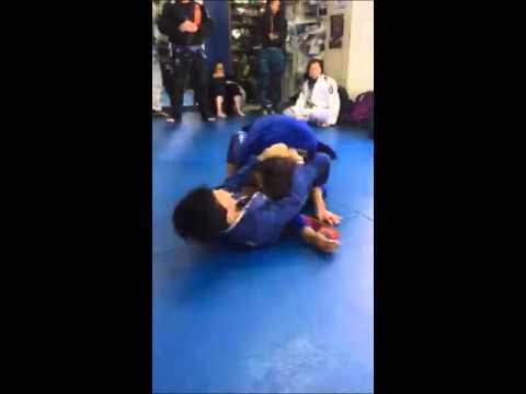 Jiu Jitsu Sparring with 8 time BJJ Champion Michelle Nicolini