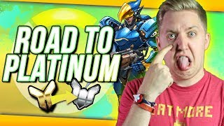 Overwatch: Road To Platinum #6 - TO THE SKIES!!
