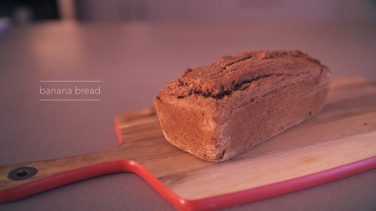 Chef danielle shine healthy banana bread youtube chef danielle shine healthy banana bread forumfinder Images