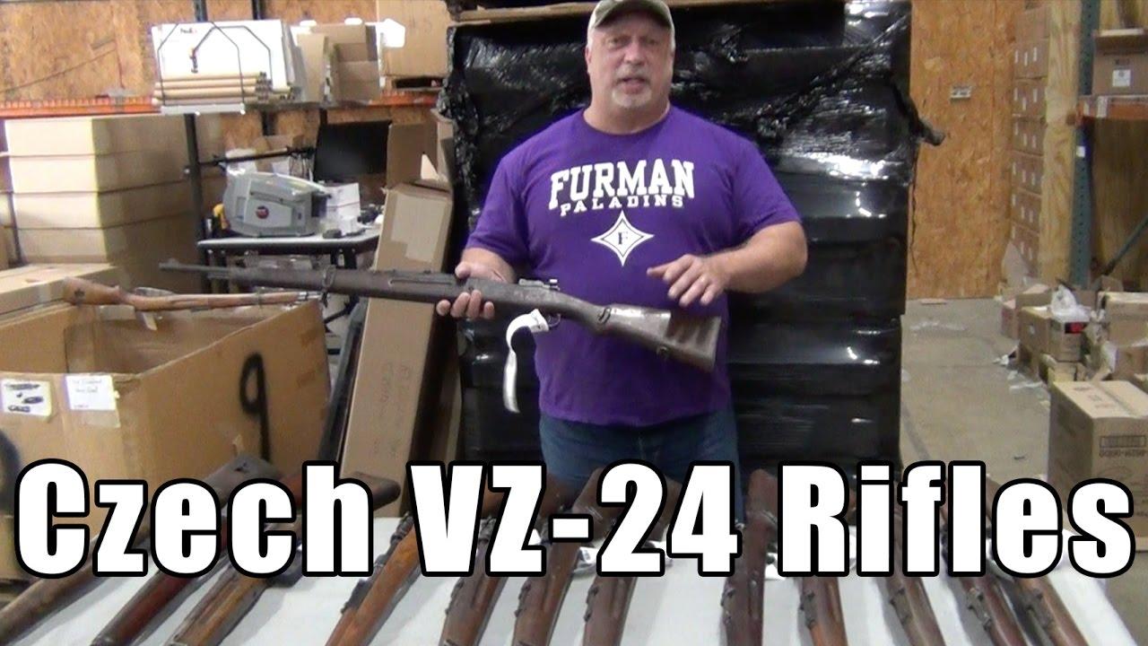 Video: Czech VZ-24 Rifles - 8mm Mauser