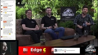 🔴🦕 Jurassic World Evolution 🦖 Dev Stream live E3 2018 Übersetzung [Stream]
