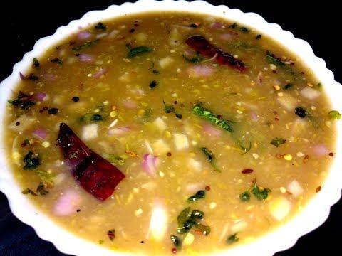 Pachi Pulusu Recipe Andhra Style పచ్చి పులుసు