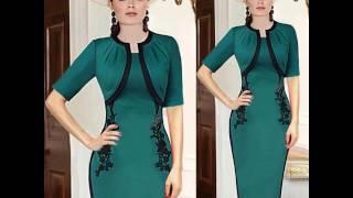 Стильные платья в романтическом стиле ретро, модные тенденции 2017-2018