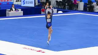 Shang Chunsong - FX Qual - 2018 CHN Nationals Zhaoqing