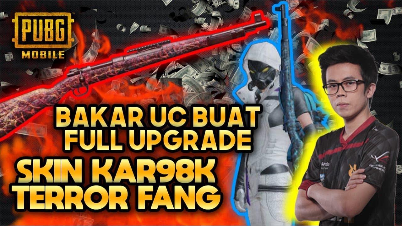 BAKAR UC BUAT SKIN KAR98K TERROR FANG FULL UPGRADE !!! - PUBG MOBILE INDONESIA