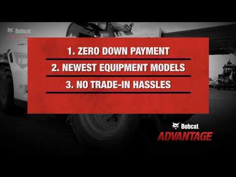 Benefits Of Bobcat Equipment Leasing   Toronto