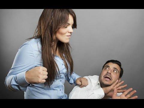 Домашнее насилие со стороны...женщин!