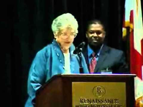 ACHMI 2010 Summit - Marian Loftin Award Presentation