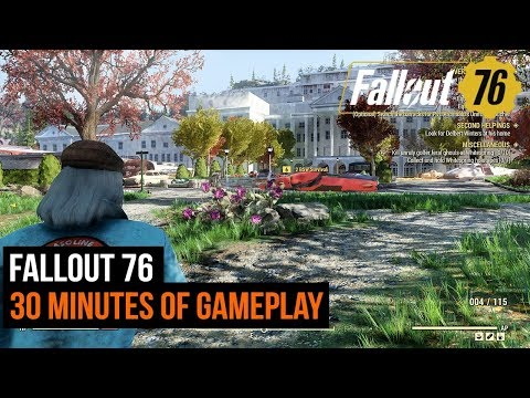 Fallout 76 - 30 minutes of gameplay thumbnail