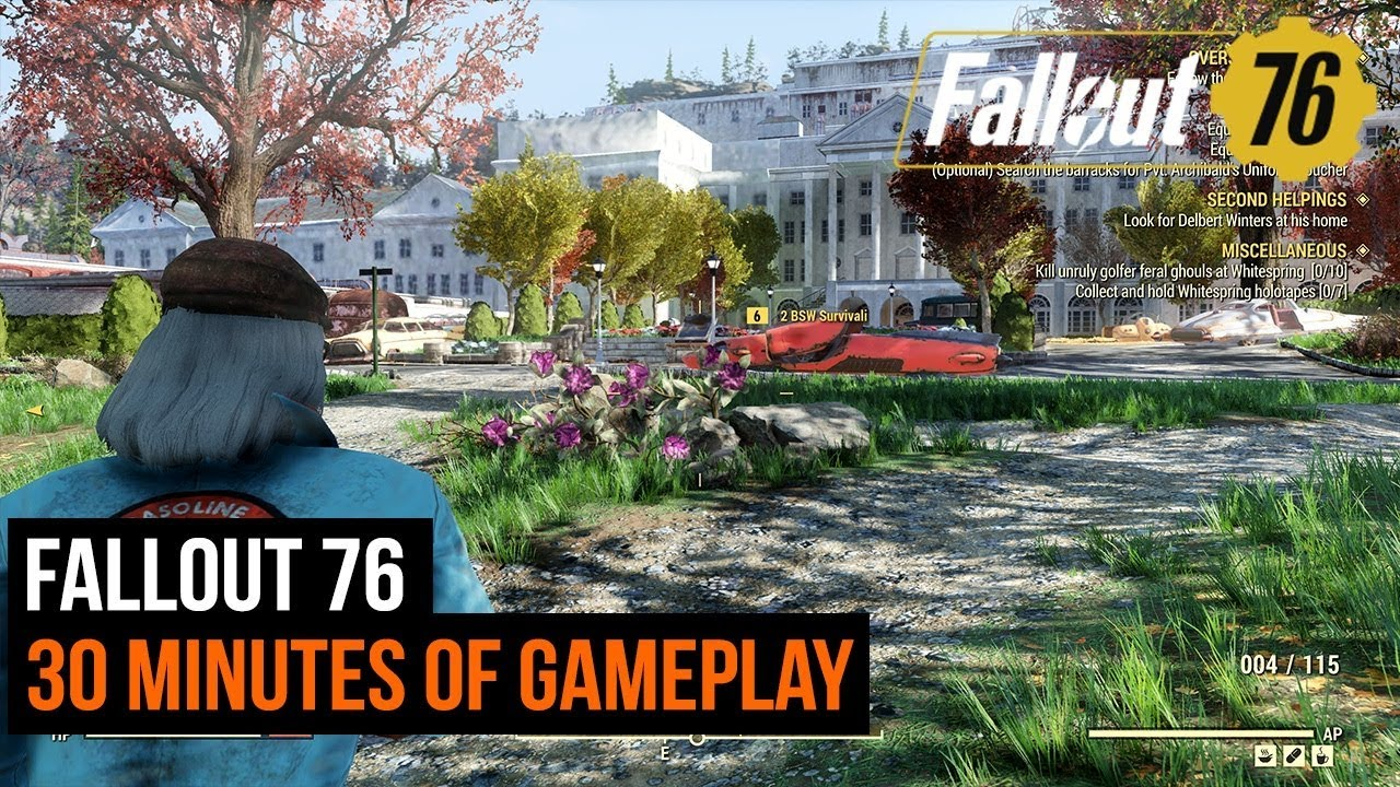 Fallout 76 - 30 minutes of gameplay