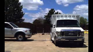 Braun Ambulance Crash Testing - June 2016 Compilation