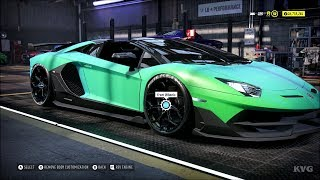 Need for Speed Heat - Lamborghini Aventador SVJ Roadster 2019 - Customize | Tuning Car HD