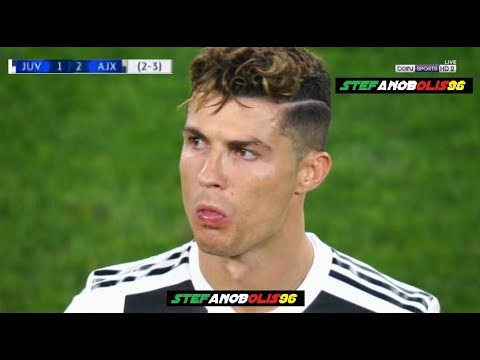 Juventus Vs Ajax 1-2 ⚽ # Cristiano Ronaldo ⚽ Champions League 2019 ⚽ HD #Juve