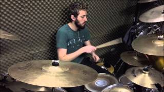 Jorge Lucas playing Epica - Mother of Light - Drums Cover