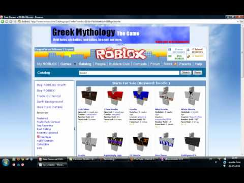 How to copy a shirt pants in roblox simple way youtube for Roblox how to copy shirts