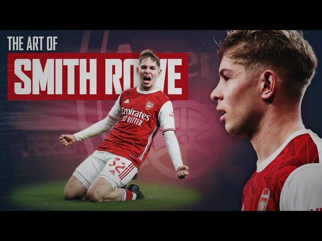 The Art of Emile Smith Rowe | Goals, Assists & Skills Compilation