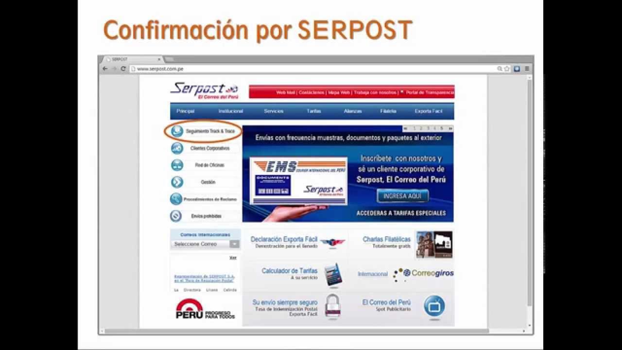 VERIFICAR ENVIOS A PERU DE ALIEXPRESS CON SERPOST - YouTube