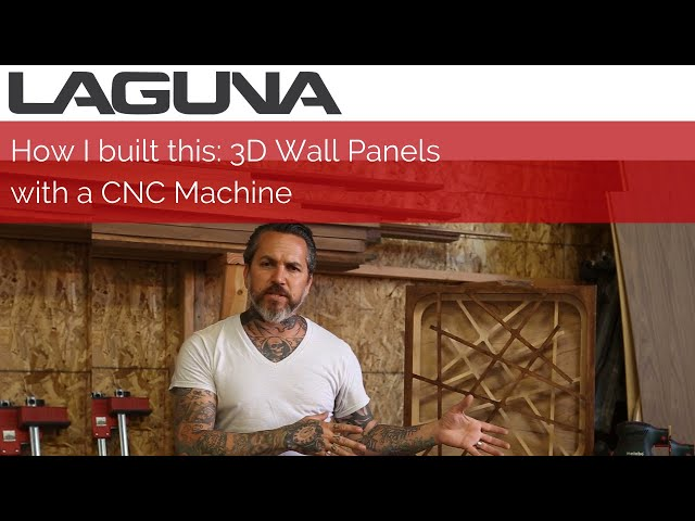 How I Built This: 3D Wooden Ceiling Wall Panels | Laguna Tools