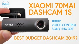 Xiaomi 70Mai Smart Dash Cam 1S Review - Is this the BEST Budget DASHCAM?! (2019)